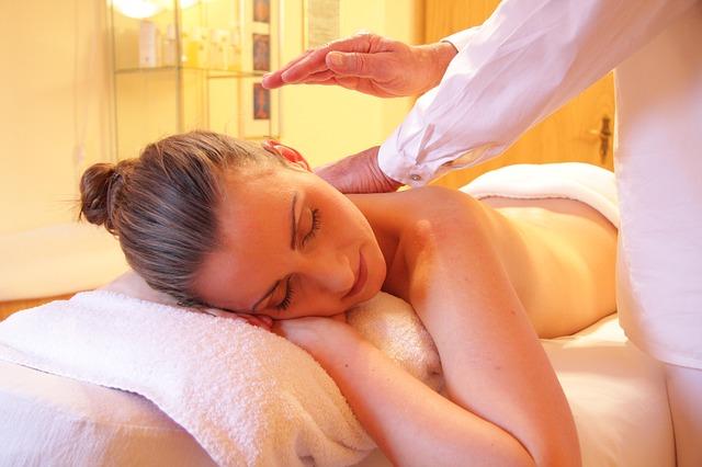 masáž a klídek