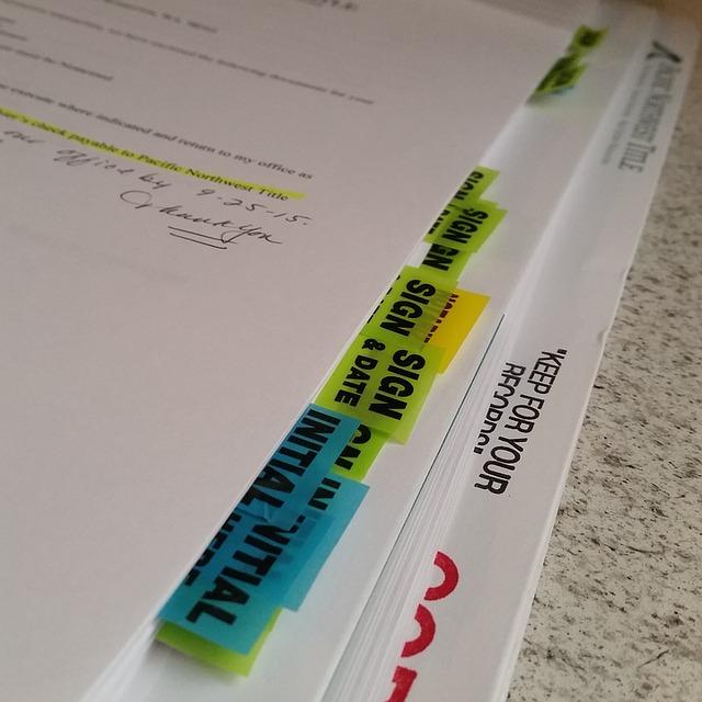 záložky v dokumentech