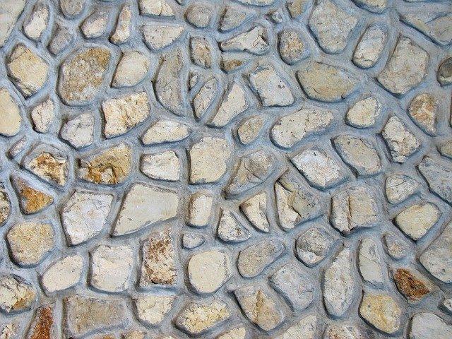 zazděné kameny