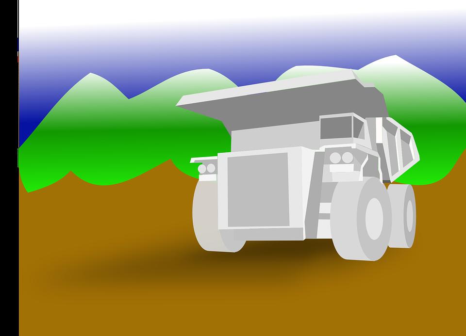 nakreslený náklaďák